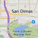 San Dimas Map